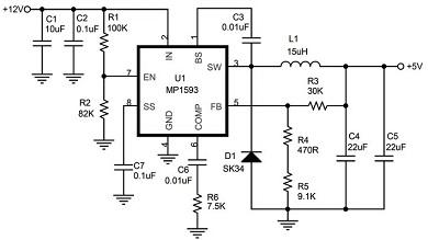 计高效率大电流直流稳压电源图片