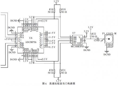 基于cpld和lvpecl门电路的脉宽可调窄脉冲信号发生器